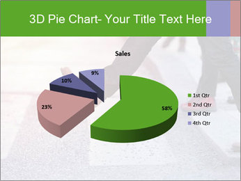 Man taking the step PowerPoint Template - Slide 35