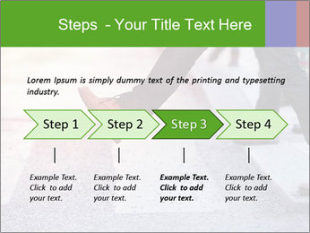 Man taking the step PowerPoint Template - Slide 4