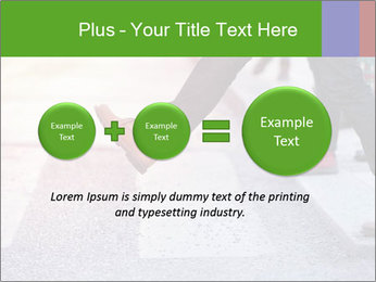 Man taking the step PowerPoint Template - Slide 75