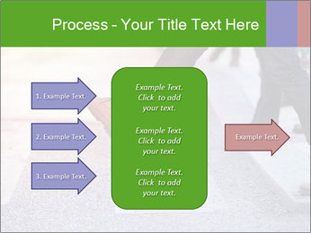 Man taking the step PowerPoint Template - Slide 85