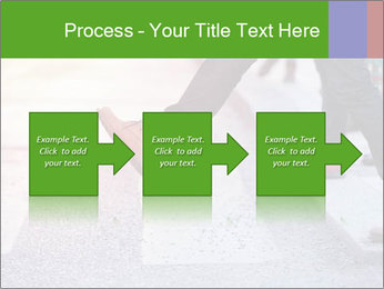 Man taking the step PowerPoint Template - Slide 88