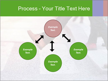 Man taking the step PowerPoint Template - Slide 91