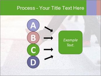Man taking the step PowerPoint Template - Slide 94