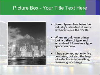 Kowloon downtown PowerPoint Templates - Slide 13