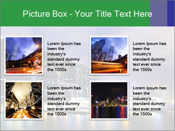 Kowloon downtown PowerPoint Template - Slide 14