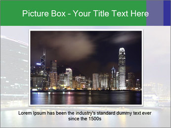 Kowloon downtown PowerPoint Template - Slide 15