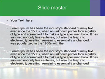 Kowloon downtown PowerPoint Template - Slide 2