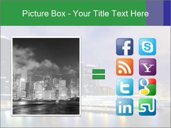 Kowloon downtown PowerPoint Template - Slide 21
