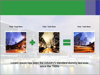 Kowloon downtown PowerPoint Template - Slide 22