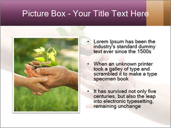 Life in your hands PowerPoint Template - Slide 13