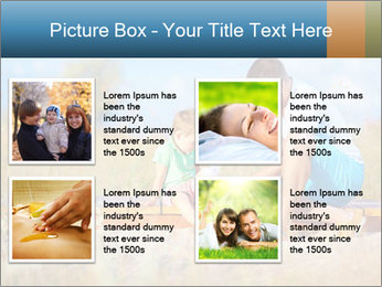 Father bandaging PowerPoint Templates - Slide 14