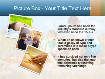 Father bandaging PowerPoint Templates - Slide 17