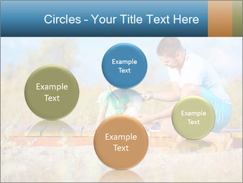 Father bandaging PowerPoint Templates - Slide 77