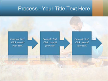 Father bandaging PowerPoint Templates - Slide 88