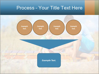 Father bandaging PowerPoint Templates - Slide 93