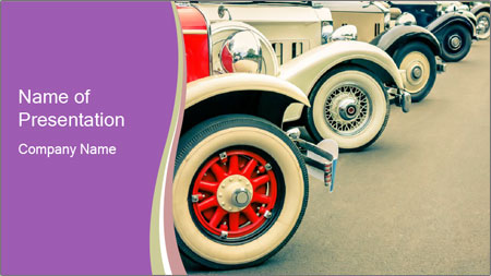 Vintage Car PowerPoint Template