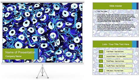 Evil Eye PowerPoint Template
