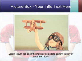 Superhero kid PowerPoint Template - Slide 16