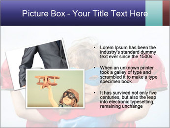 Superhero kid PowerPoint Template - Slide 20