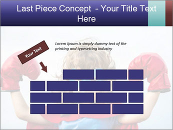 Superhero kid PowerPoint Template - Slide 46