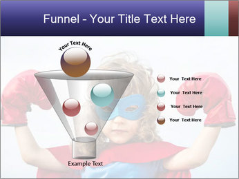 Superhero kid PowerPoint Template - Slide 63