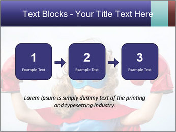 Superhero kid PowerPoint Template - Slide 71