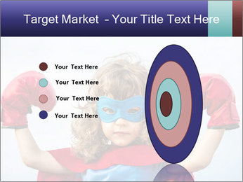 Superhero kid PowerPoint Template - Slide 84