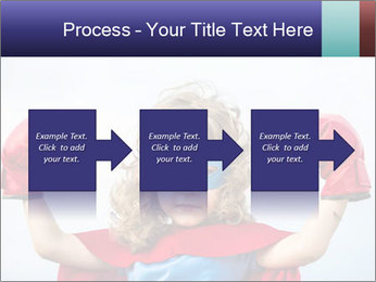 Superhero kid PowerPoint Template - Slide 88
