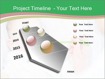 Mother feeding PowerPoint Template - Slide 26