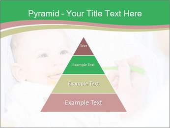 Mother feeding PowerPoint Template - Slide 30
