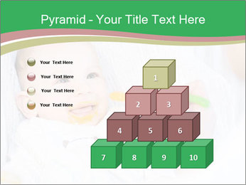 Mother feeding PowerPoint Template - Slide 31