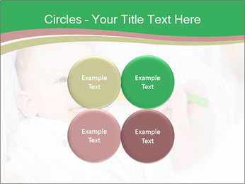 Mother feeding PowerPoint Template - Slide 38