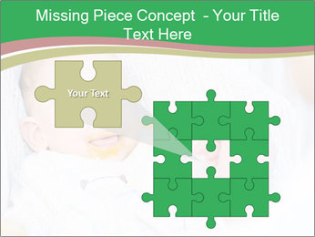 Mother feeding PowerPoint Template - Slide 45