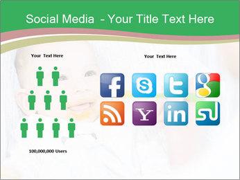 Mother feeding PowerPoint Templates - Slide 5