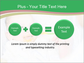 Mother feeding PowerPoint Template - Slide 75