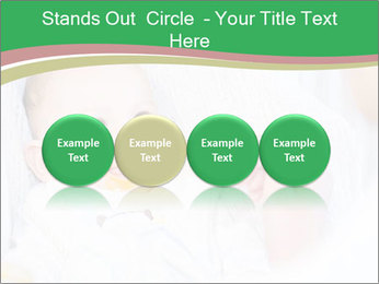 Mother feeding PowerPoint Template - Slide 76