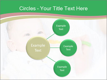 Mother feeding PowerPoint Template - Slide 79
