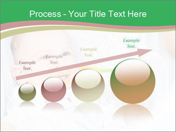 Mother feeding PowerPoint Template - Slide 87