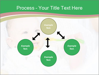 Mother feeding PowerPoint Template - Slide 91