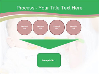 Mother feeding PowerPoint Template - Slide 93