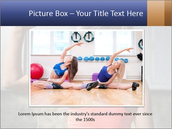Beautiful young woman working PowerPoint Template - Slide 16