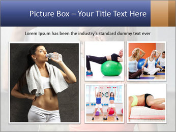 Beautiful young woman working PowerPoint Template - Slide 19