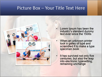 Beautiful young woman working PowerPoint Template - Slide 20