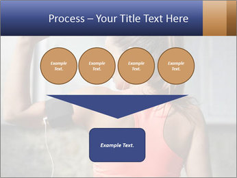 Beautiful young woman working PowerPoint Template - Slide 93