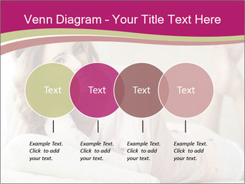 Home portrait of beautiful young woman PowerPoint Templates - Slide 32