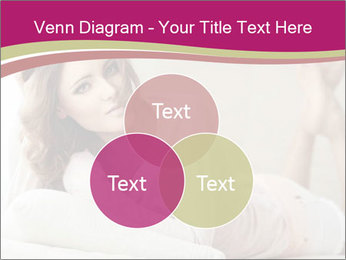Home portrait of beautiful young woman PowerPoint Templates - Slide 33