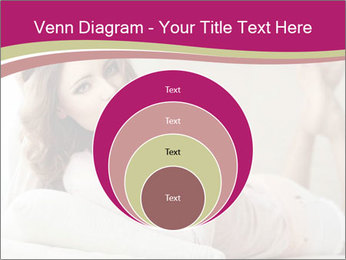 Home portrait of beautiful young woman PowerPoint Template - Slide 34