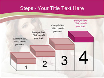 Home portrait of beautiful young woman PowerPoint Templates - Slide 64
