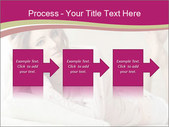 Home portrait of beautiful young woman PowerPoint Templates - Slide 88