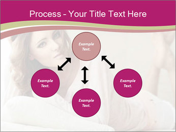 Home portrait of beautiful young woman PowerPoint Templates - Slide 91